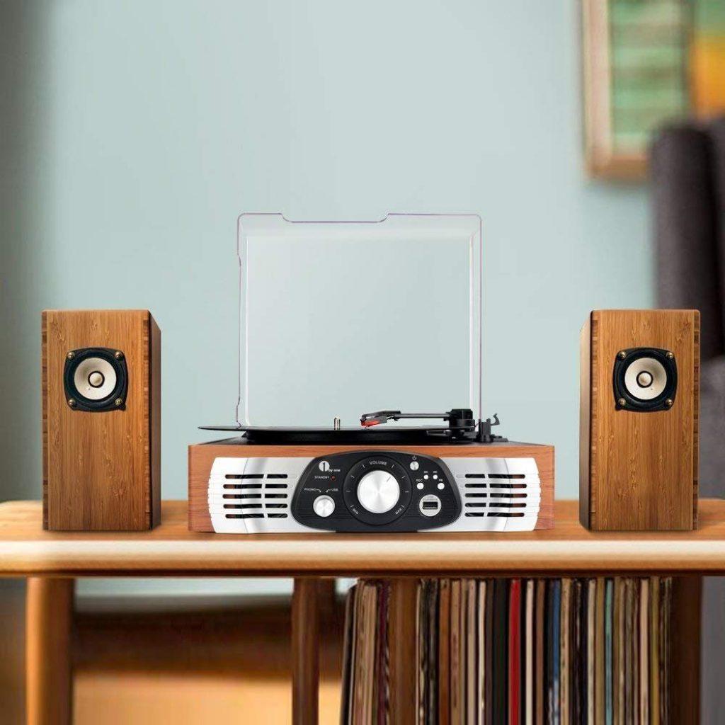 giradischi stereo 1Byone