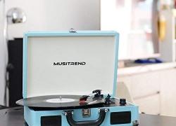 Giradischi MUSITREND Vinyl Transport